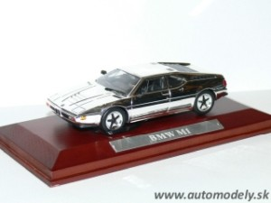 BMW M1 - 1:43 Silver-Cars Collection