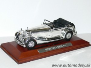 Mercedes Benz SS - 1:43 Silver-Cars Collection