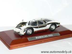 Porsche 906 - 1:43 Silver-Car Collection