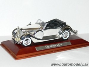 Lagonda LG 6 - 1:43 Silver-Cars Collection