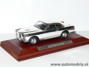 Facel Vega FV - 1:43 Silver-Cars Collection
