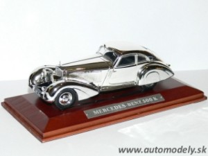 Mercedes Benz 500 K - 1:43 Silver-Cars Collection