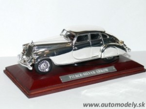 Pierce Silver Arrow - 1:43 Silver-Cars Collection