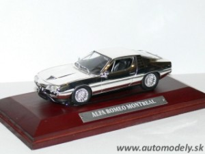 Alfa Romeo Montreal - 1:43 Silver-Cars Collection