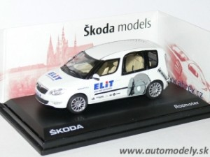 Abrex - Škoda Roomster facelift ELITE - 1:43
