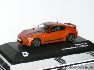 J-Collection - Toyota GT86 ( orange met. ) 1:43