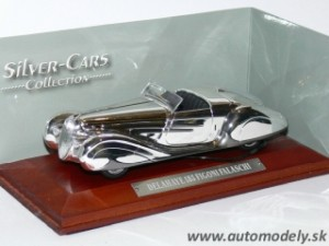 Delahaye 185 Figoni Falaschi - 1:43 Silver-Cars Collection