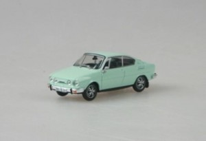 Abrex - Škoda 110R Coupe (1978) Diamond White - 1:43