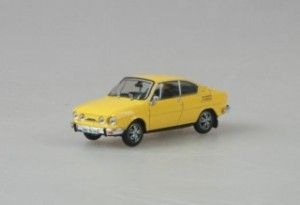 Abrex - Škoda 110R Coupe (1978) Solar Yellow - 1:43
