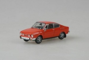 Abrex - Škoda 110R Coupe (1978) Brilliant Orange - 1:43