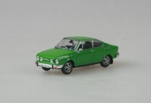 Abrex - Škoda 110R Coupe (1978) Palm Green - 1:43