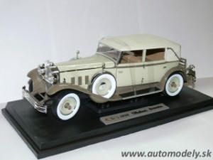 Signature Models - Packard Brewster 1930 Tan/Coffe - 1:18