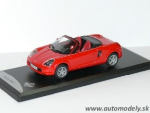 Solido - Toyota MR2 ( 2000 ) Red - 1:43