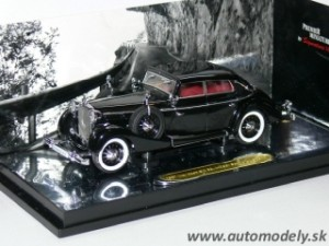 Signature Models - Maybach SW38 Cabriolet 4-doors (1938) black - 1:43