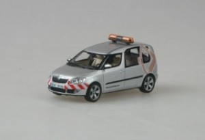Abrex - Škoda Roomster - Cannoneer Group - 1:43