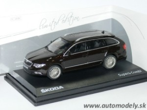 "Abrex - Škoda Superb II Combi ""Laurin & Klement"" - 1:43"