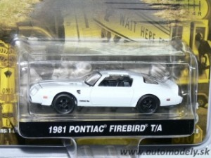GreenLight - Pontiac Firebird T/A - 1:64