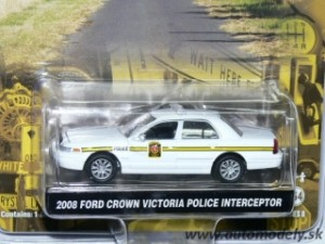 GreenLight - 2008 Ford Crown Victoria POLICE Interceptor - 1:64