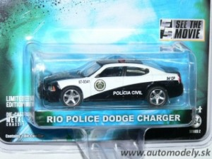 "GreenLight - Dodge Charger RIO POLICE ""Fast & Furious"" - 1:64"