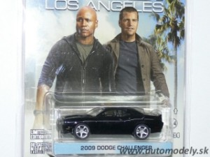 "GreenLight - 2009 Dodge Challenger ""NCIS Los Angeles"" - 1:64"