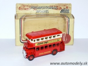 Lledo Models - Double Decker Bus - Radio Times