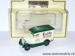 Lledo Models - Chevrolet Van 1934 Exide Batteries