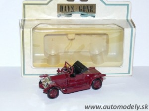 Lledo Models - Rolls Royce Silver Ghost Coupe 1907 Red