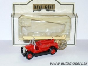 Lledo Models - Dennis Fire Engine 1934