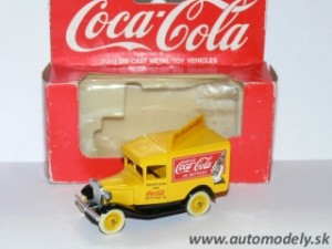 Lledo Models - Ford Model T - COCA COLA