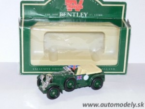 Lledo Models - Bentley 4 1/2 Litre