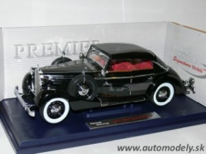 Signature Models - Maybach SW38 (1938) Cabriolet 4-doors Black - 1:18