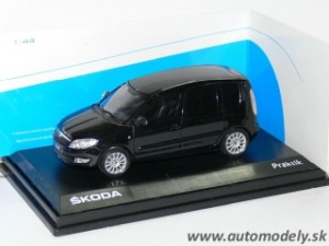 Abrex - Škoda Praktik Facelift (Black Magic) - 1:43