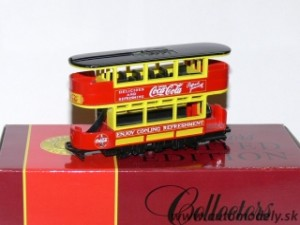 Matchbox YYM37797 - The Coca Cola TRAM (Električka)