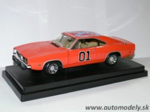 Ertl - Dodge Charger - General Lee - The Dukkes of Hazzard - 1:18
