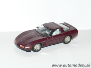 Matchbox CCV02 - Chevrolet Corvette 1993 40th Anniversary Edition