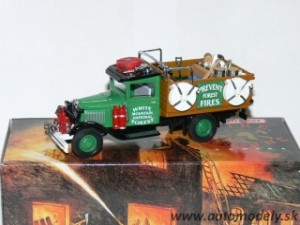 "Matchbox YFE28 - 1932 Ford Model AA Forest Fire Truck ""Hasiči"""