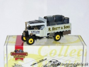 Matchbox YAS12 - 1922 Foden Steam Wagon - R. Brett and Sons