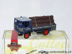Matchbox YAS09 - 1929 Garrett Steam Wagon