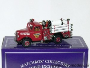 "Matchbox 95166 - 1939 Bedford Pump and Hose Fire Truck ""Hasiči"""