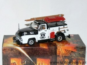Matchbox YYM35187 - 1954 Ford Civil Defense Truck - Rescue Service