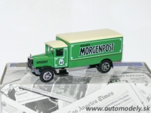 "Matchbox YPP03 - 1932 Mercedes Benz L5 ""Berliner Morgenpost"""