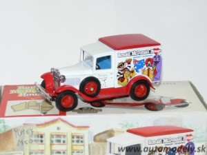Matchbox YCH07 - 1930 Model A Ford Van - Ronald McDonald House