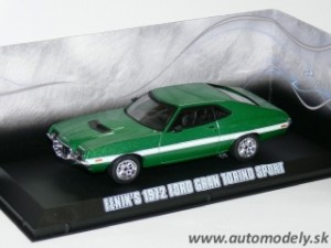 GreenLight - 1972 Ford Gran Torino Fast and Furious (IV 2009), green - 1:43