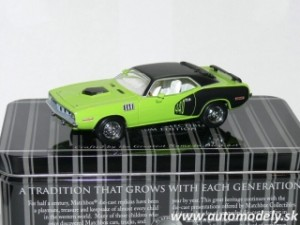 Matchbox 92688 - 1971 Plymouth Cuda 440 - Platinum Edition