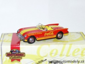 "Matchbox CCV06/B - 1953 Chevrolet Corvette ""Coca Cola"""