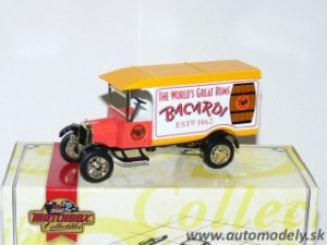 Matchbox YYM37789 - 1926 Ford Model TT BACARDI