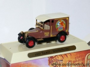 "Matchbox Yesteryear YGB10 - 1927 Talbot ""South Africa"""
