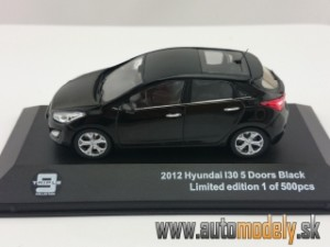 Hyundai i30 5-door ( black ) 1:43 - Triple J-Collection