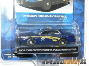 GreenLight - Ford Crown Victoria (2008) POLICE INTERCEPTOR - 1:64