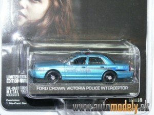 "GreenLight - Ford Crown Victoria ""Twilight"" POLICE INTERCEPTOR - 1:64"